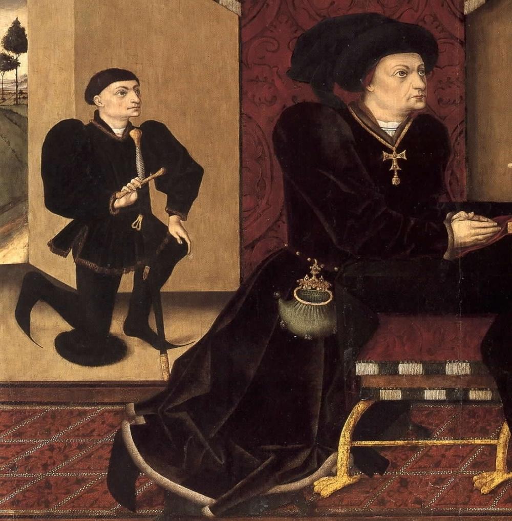 Jorge Inglés. Marqués de Santillana. Siglo XV. Museo Nacional del Prado. Madrid.