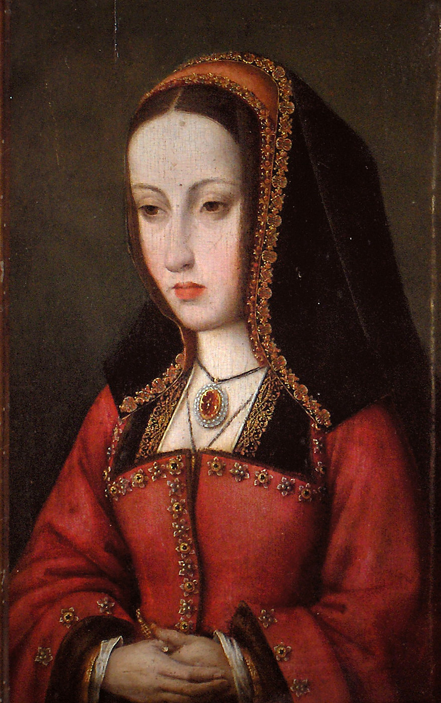Maestro de Affligem. Juana I de Castilla. Hacia 1500. Museo Nacional de Escultura. Valladolid.
