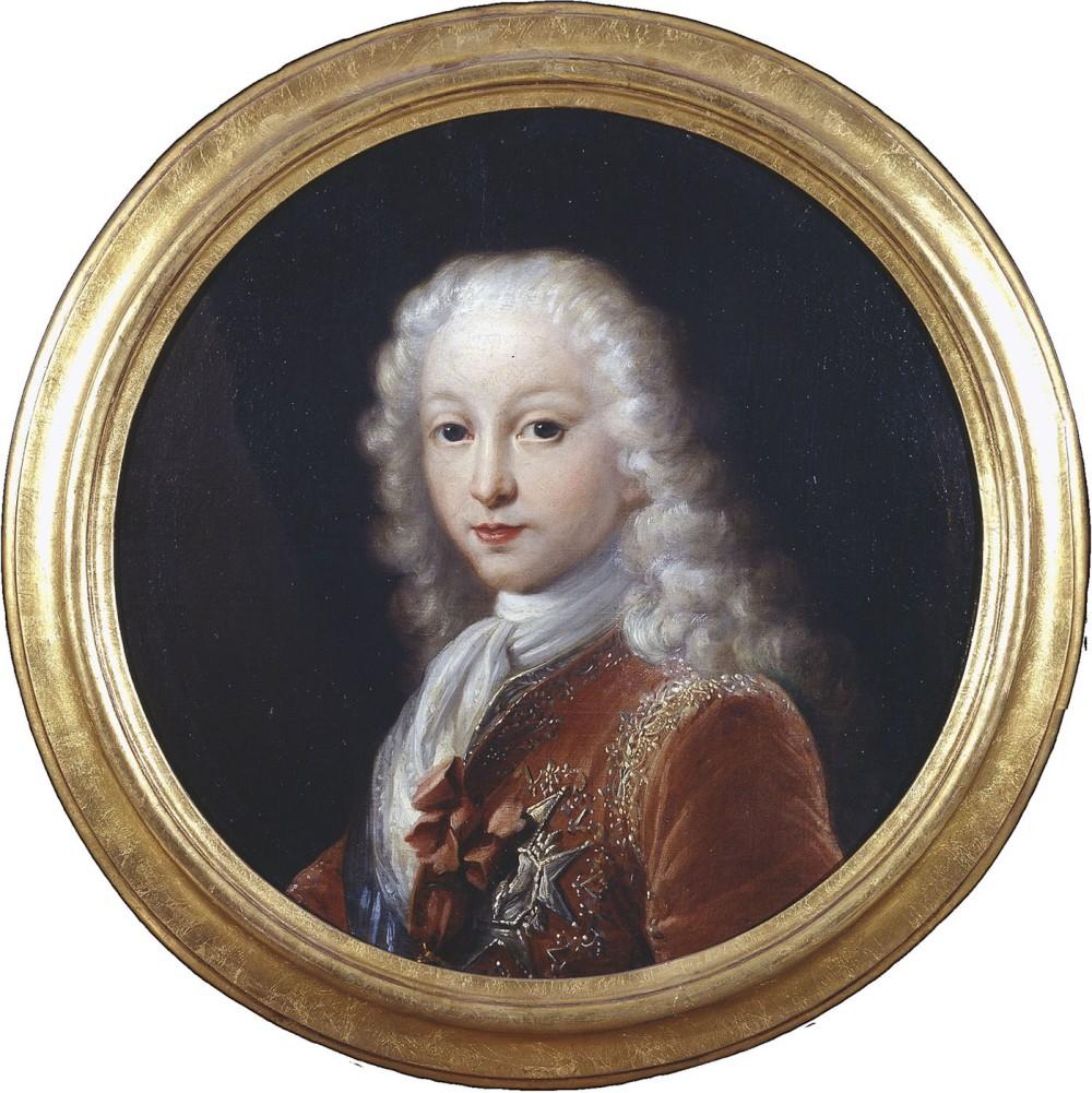 Miguel Jacinto Meléndez. Don Carlos de Borbón. 1727. Biblioteca Nacional de España. Madrid.