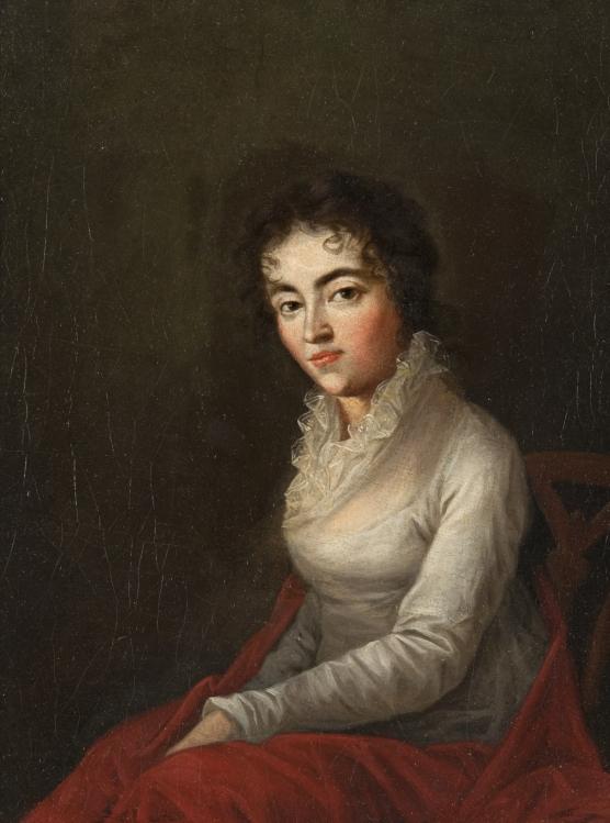 Joseph Lange. Costanze Mozart. 1782. Hunterian Museum and Art Gallery. Londres.