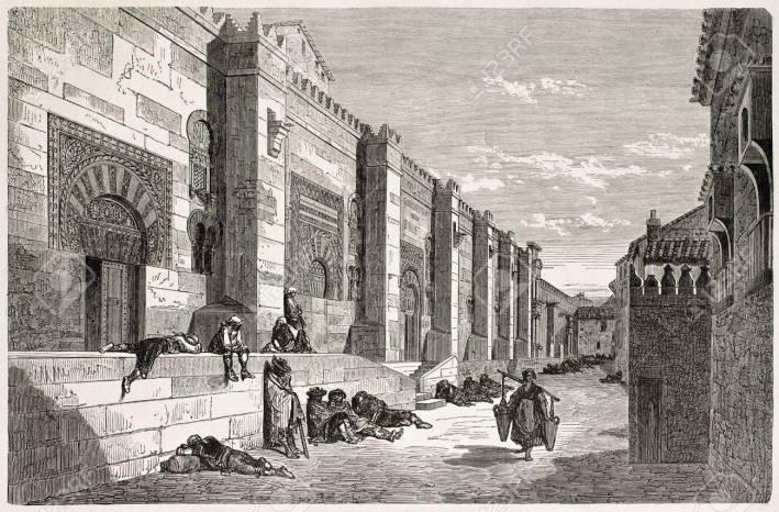 Gustavo Doré. Mezquita de Córdoba. 1867. Le Tour Du Monde. París.