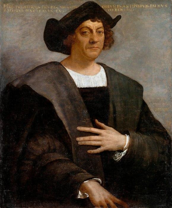 Sebastiano del Piombo. Retrato de Cristóbal Colón. 1519. Metropolitan Museum Nueva York.