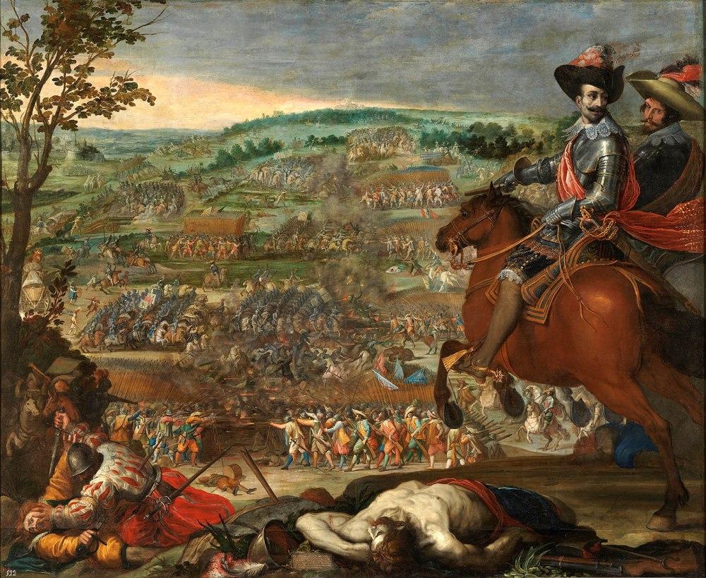 Vicente Carducho. Victoria de Fleurus. 1634. Museo Nacional del Prado. Madrid.