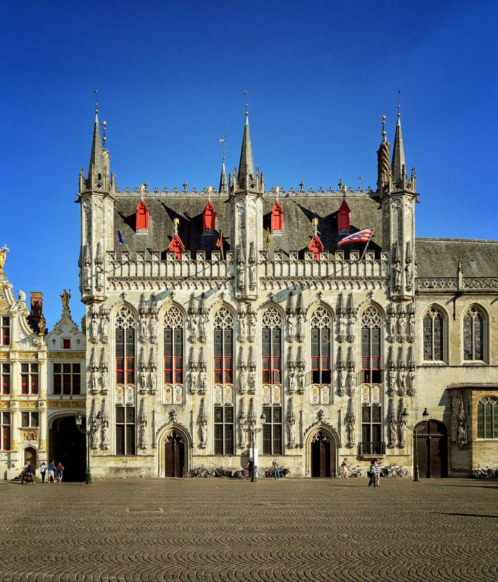 Ayuntamiento. 1376-1421. Brujas.