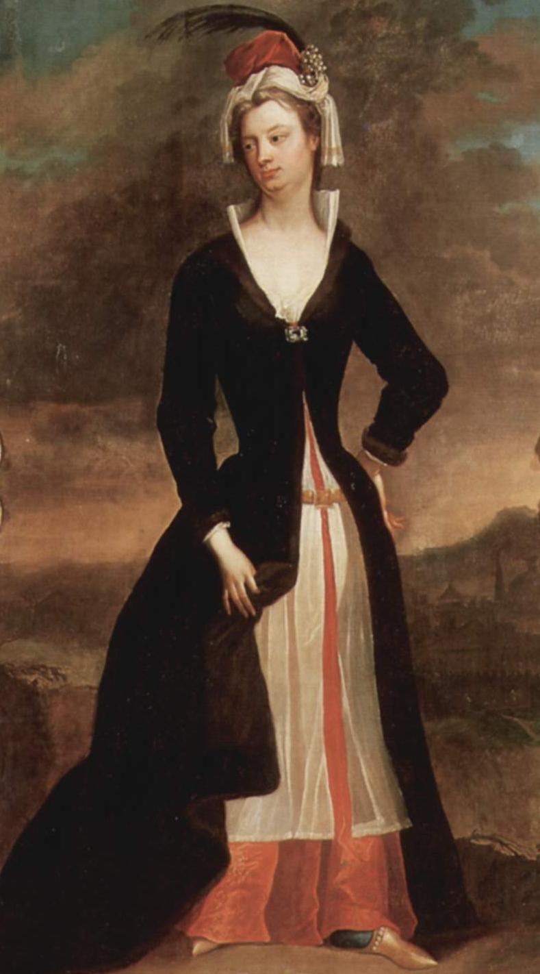 Charles Jervas. Lady Mary Wortley Montagu. Hacia 1716. National Gallery of Ireland. Dublin.