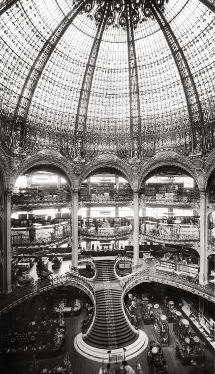 Galerias Lafayette.
