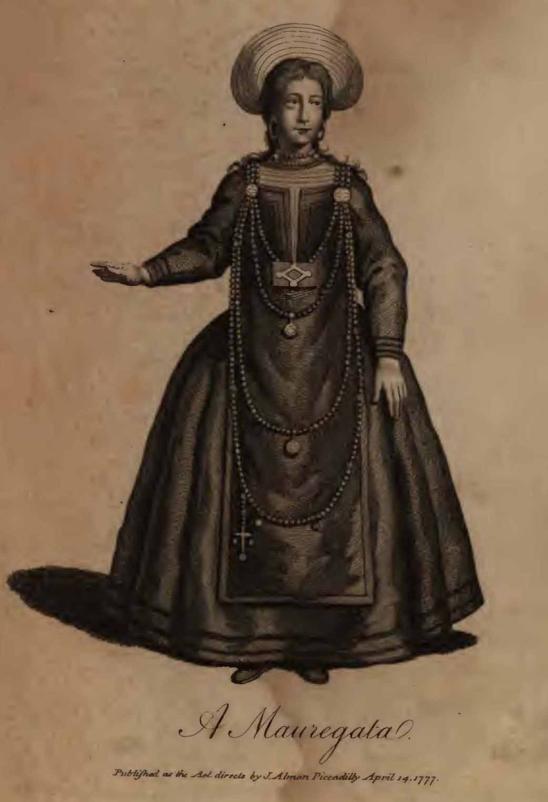 William Dalrymple. Mujer maragata. 1777.