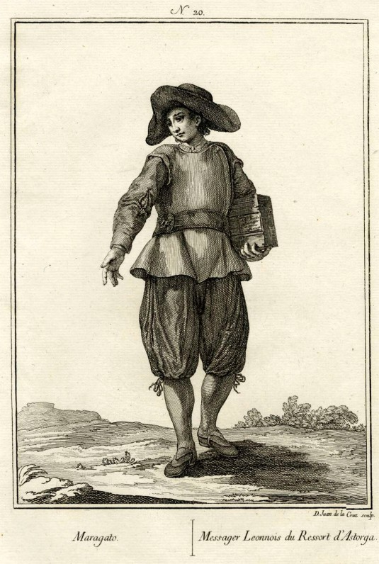 Juan de la Cruz Cano y Olmedilla. Maragato. 1777. Museo Británico. Londres.