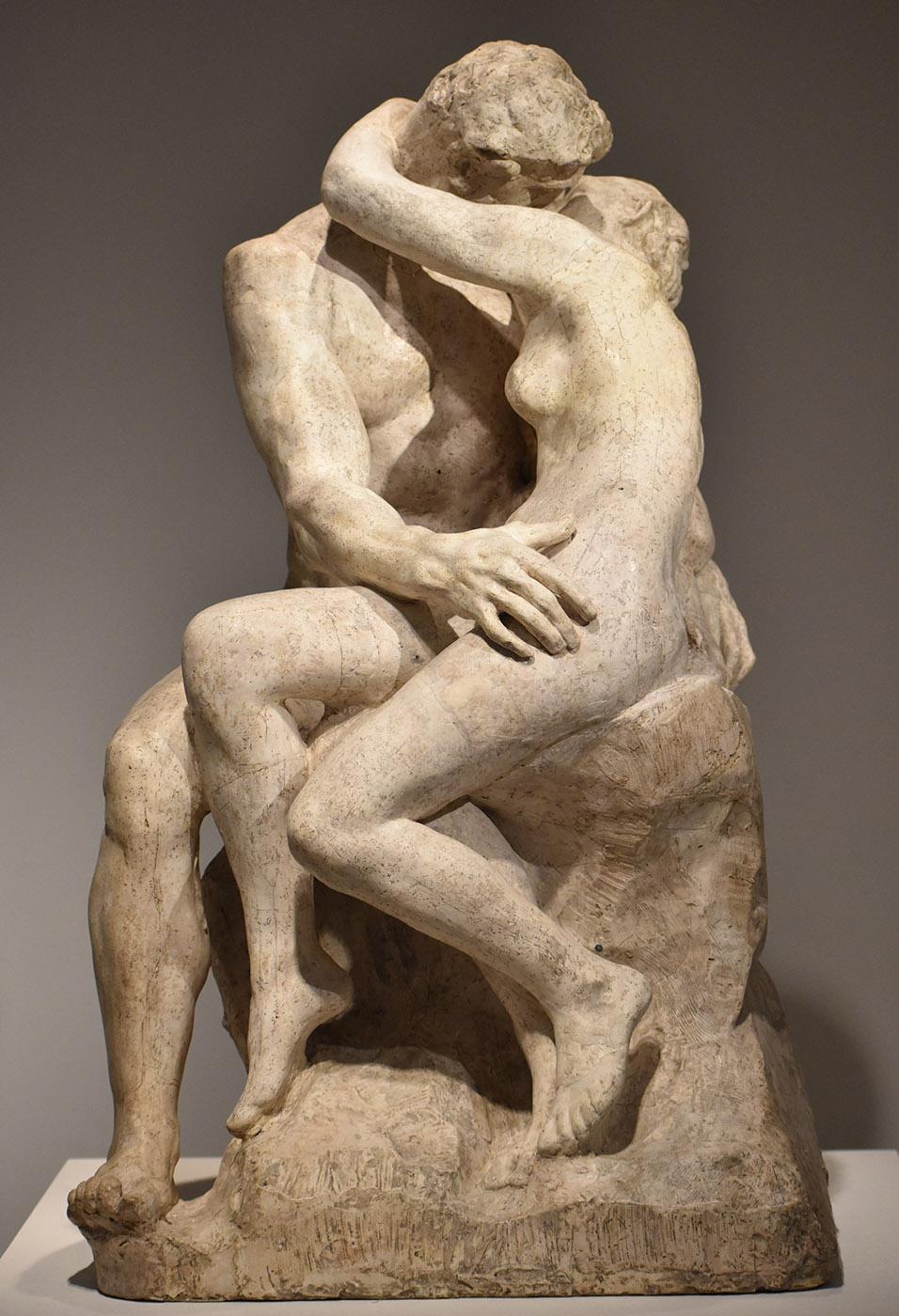 Auguste Rodin. El beso. Hacia 1882. Museo Rodin. París.