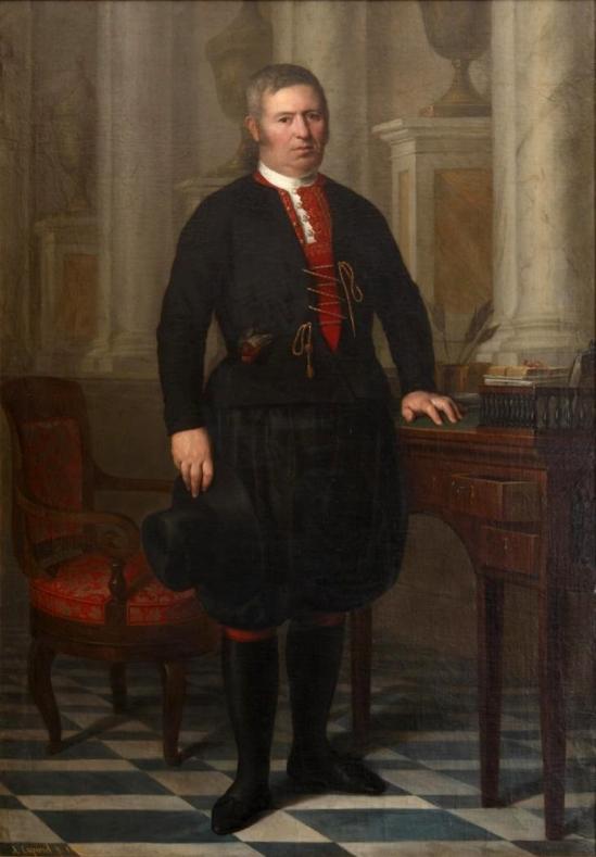 Antonio María Esquivel. Santiago Alonso Cordero, el Maragato. 1842. Museo del Romanticismo. Madrid.