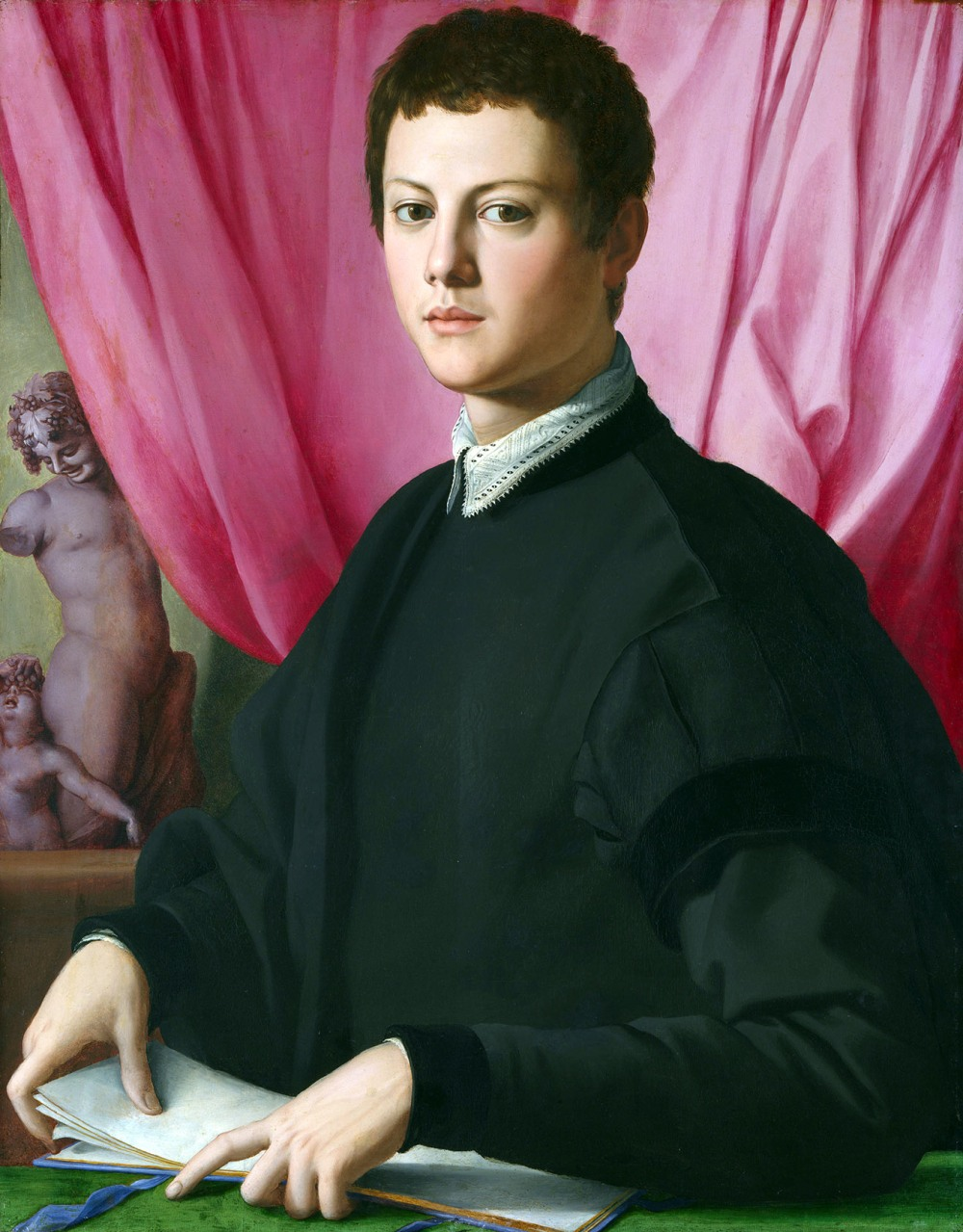 Agnolo Bronzino. Retrato de joven. 1550-1555. National Gallery. Londres