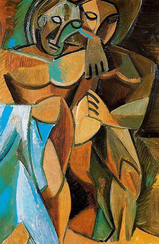Pablo Picasso. Amistad. 1908. Museo del Hermitage. San Petersburgo.
