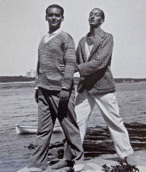 Federico García Lorca y Salvador Dalí.