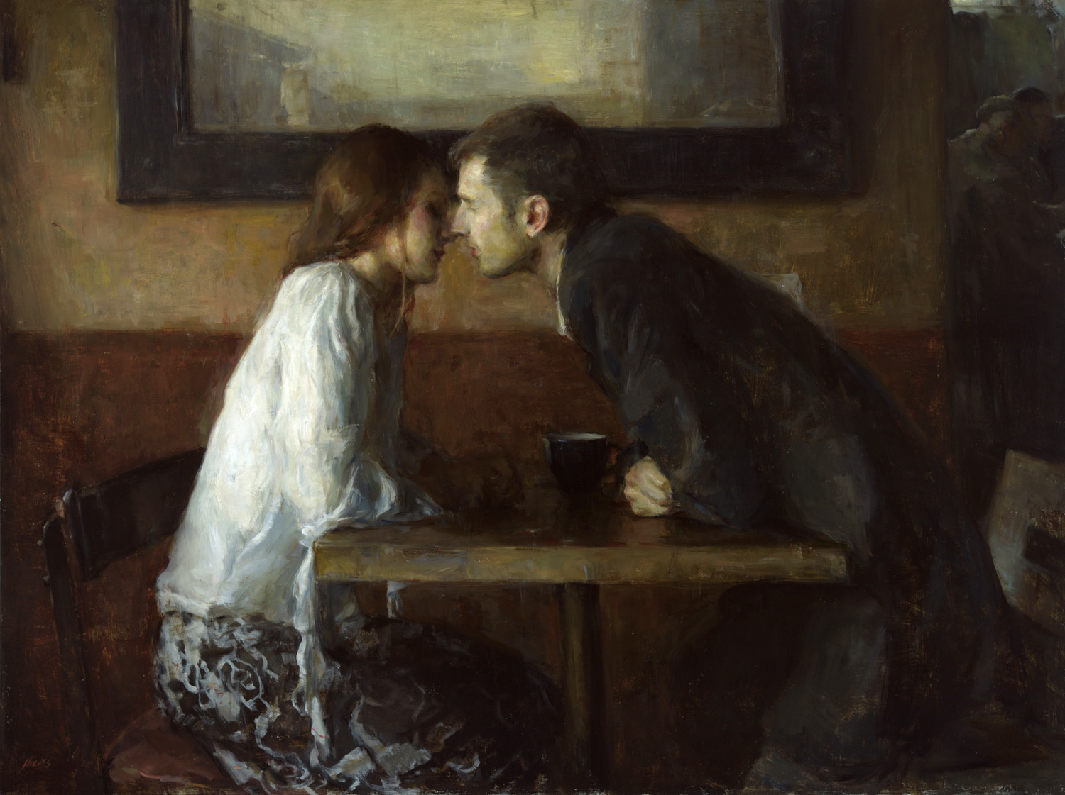 Ron Hicks. Café y amor.