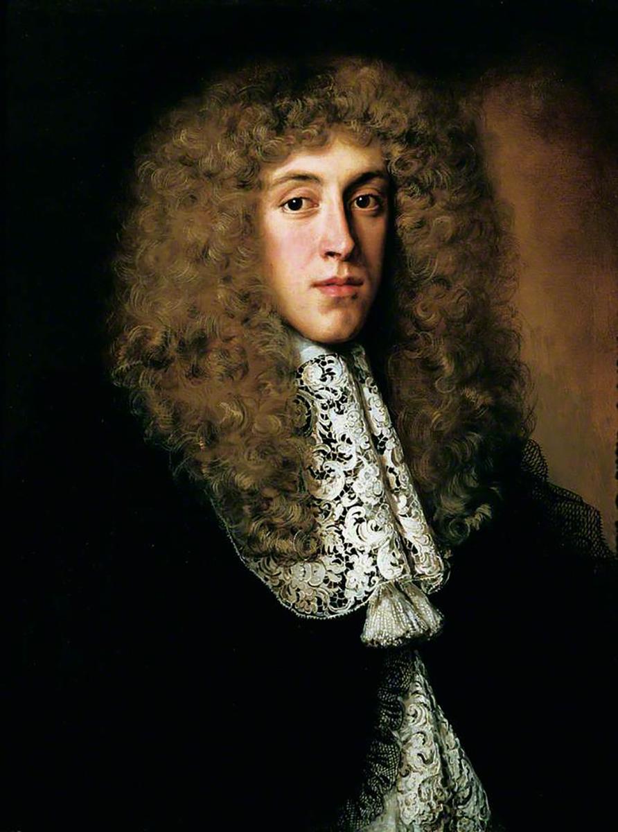 Jacob Ferdinand Voet. Retrato de caballero con cuello de encaje. 1660-1670. Wakefield Art Gallery. West Yorkshire.