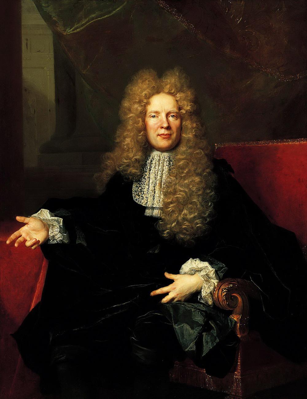 Nicolas de Largillière. Retrato de Lambert de Vermont. Hacia 1697. Norton Simon Museum. Pasadena.