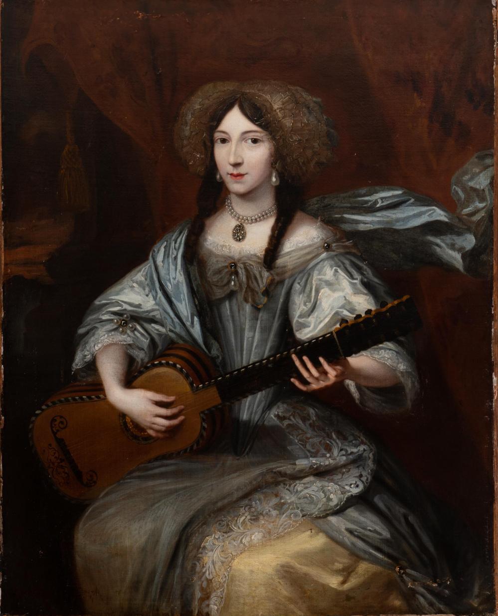 Anónimo. Retrato de dama. Siglo XVII. Colección particular.