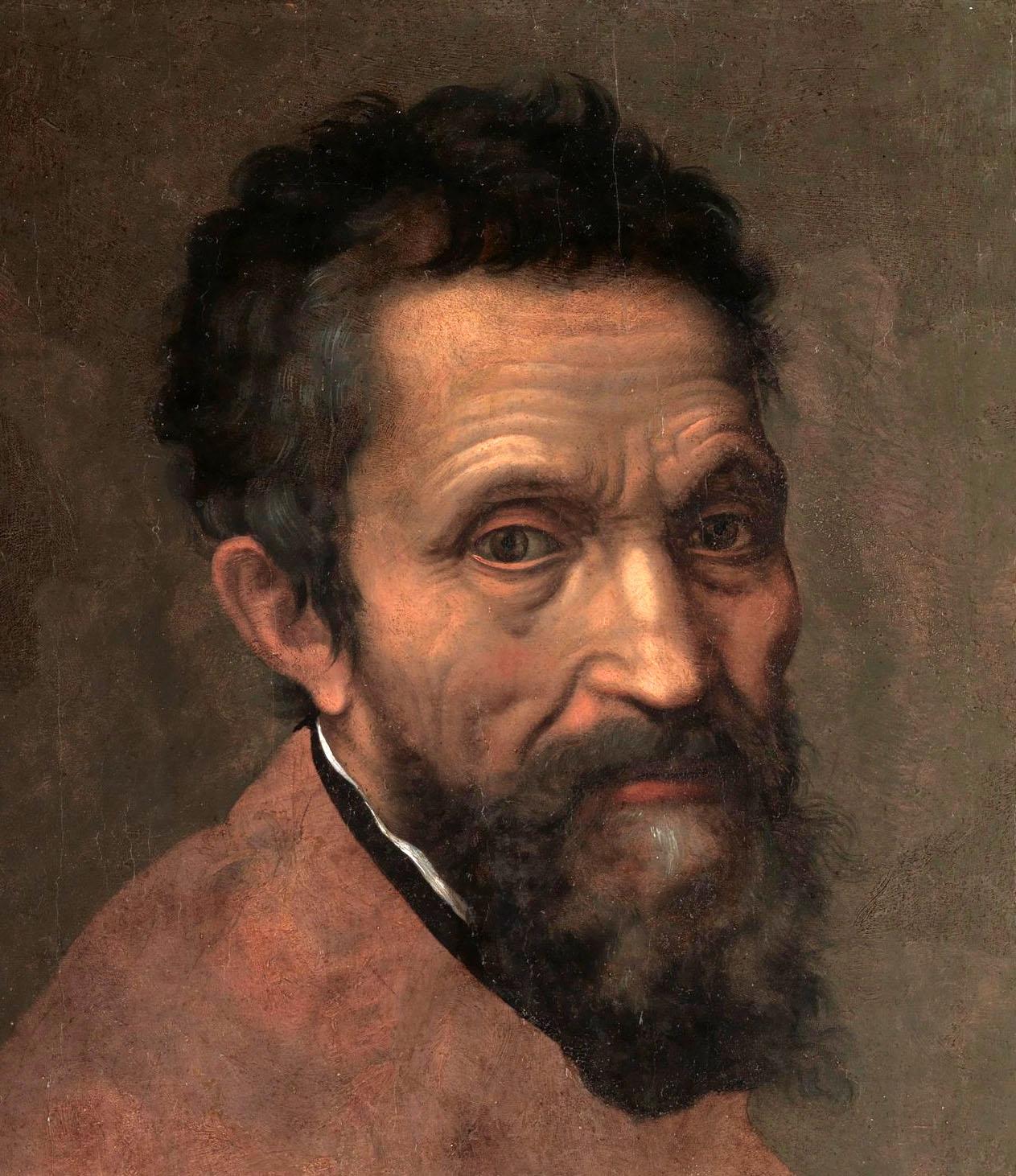 Daniele da Volterra. Miguel Ángel. Hacia 1544. Metropolitan Museum. Nueva York