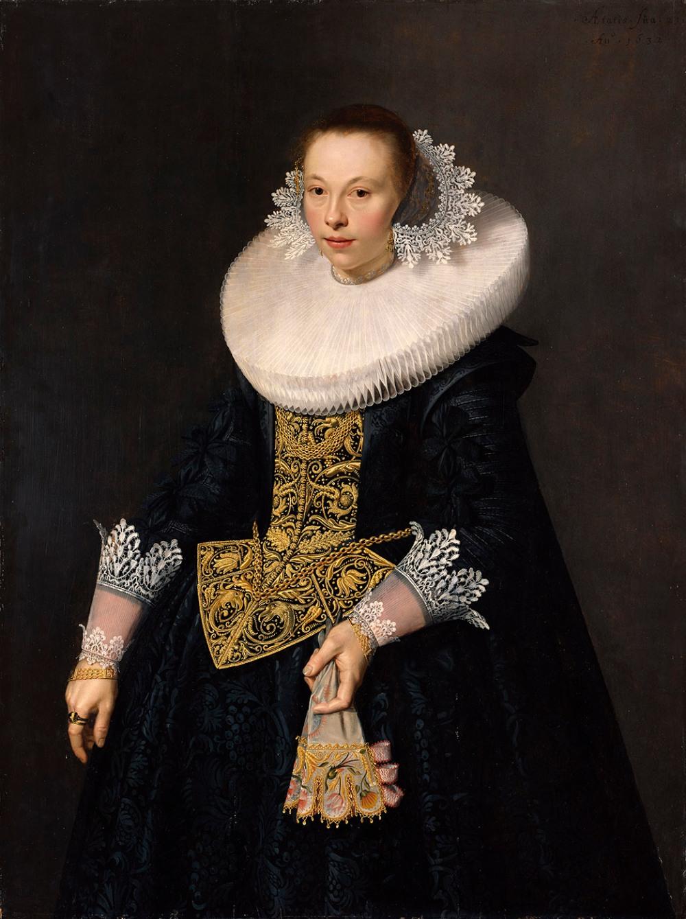 Nicolaes Pickenoy. Retrato de una joven. 1632. Getty Center. Los Ángeles.