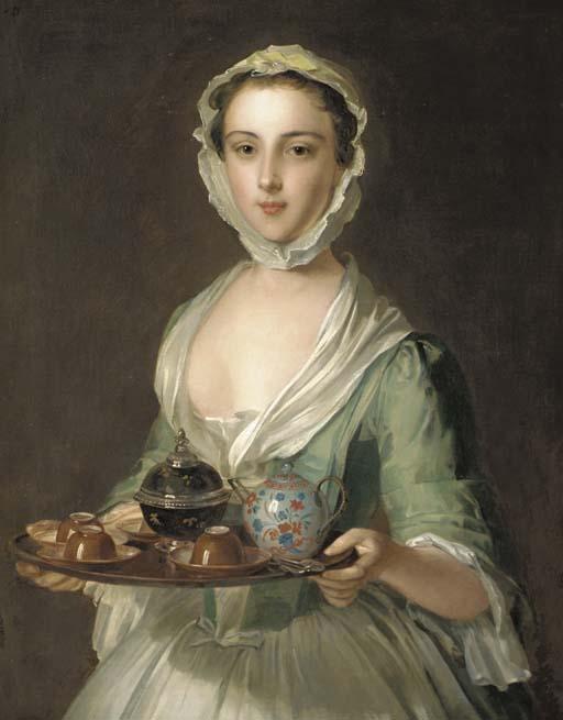 Philip Mercier. Retrato de joven. Siglo XVIII. Colección particular.