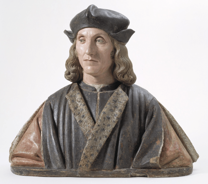 Pietro Torrigiano. Retrato de Enrique VII. 1509-1511. Museo Victoria & Albert. Londres.