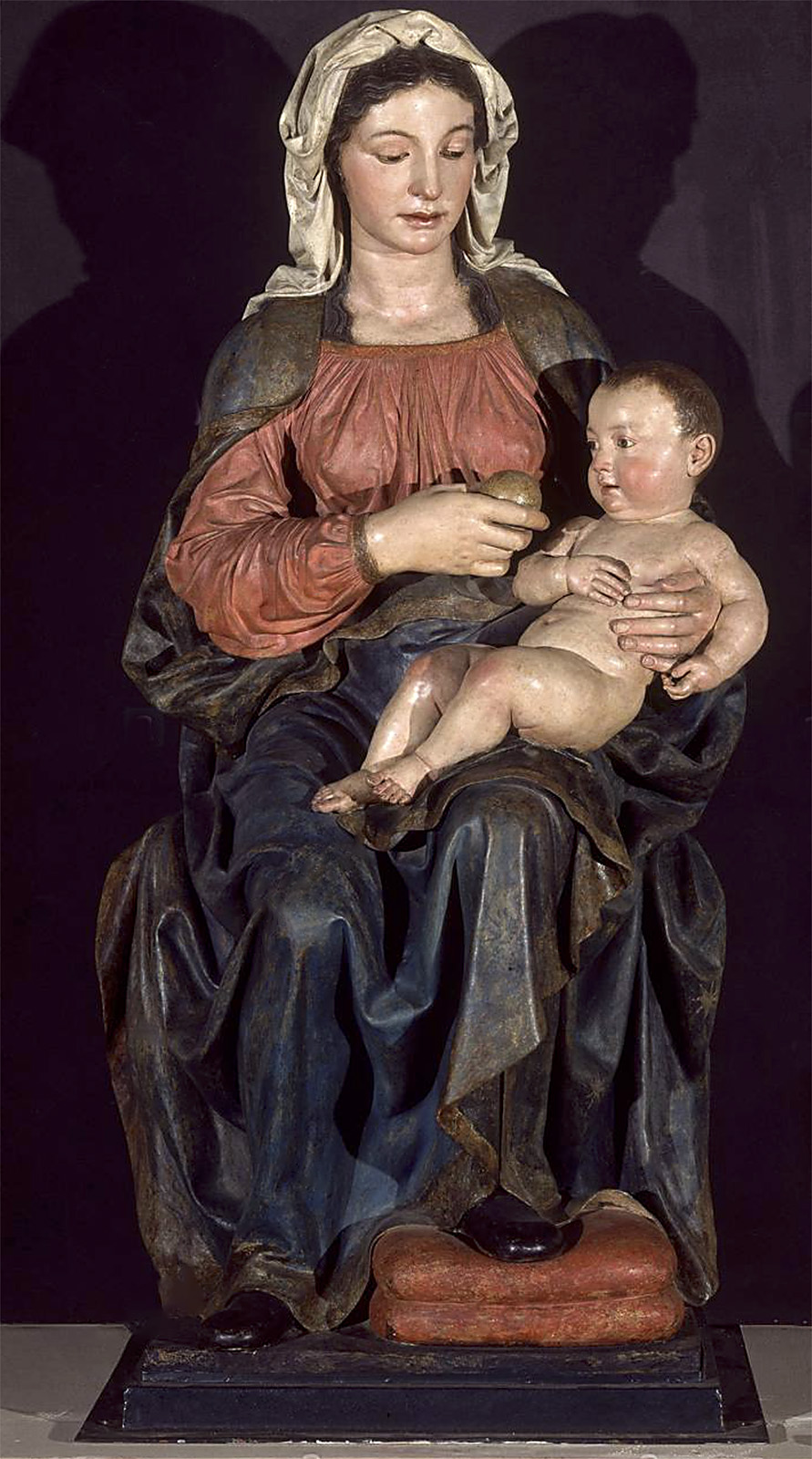Pietro Torrigiano. Virgen de Belén. Hacia 1525. Museo de Bellas Artes de Sevilla.