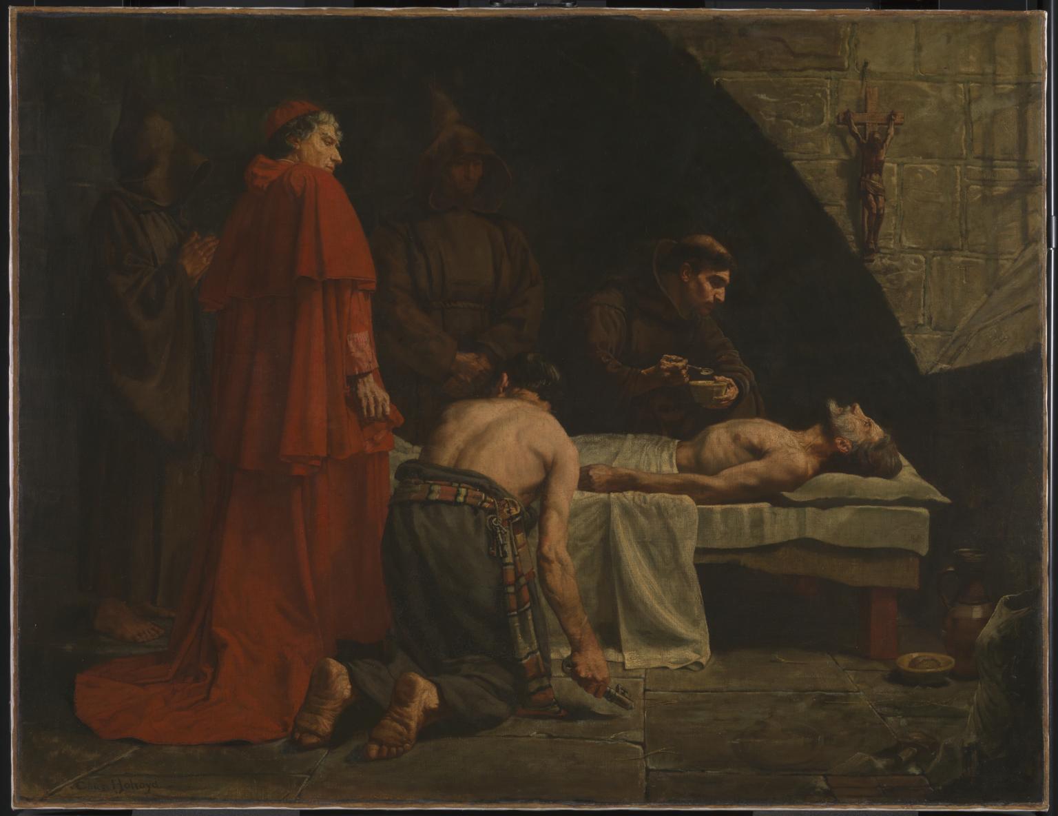Sir Charles Holroyd. Muerte de Torrigiano.1886. Tate Modern. Londres.