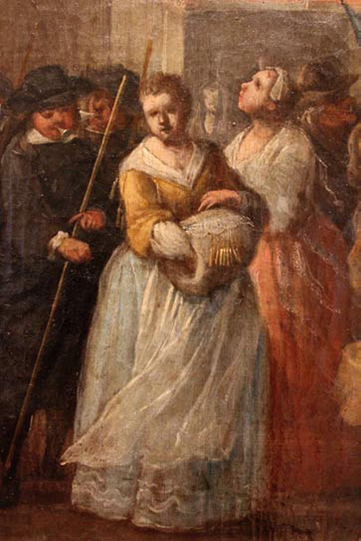 Domingo Martinez. Carro del Aire. (detalle). Hacia 1748. Museo de Bellas Artes. Sevilla.