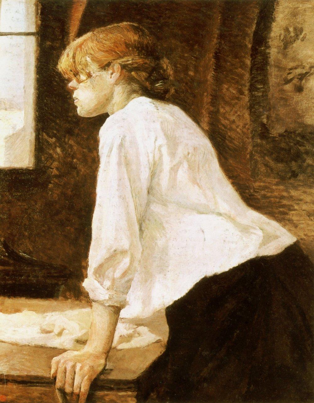 Henri de Toulouse-Lautrec. La lavandera. 1884-1888. Colección particular.