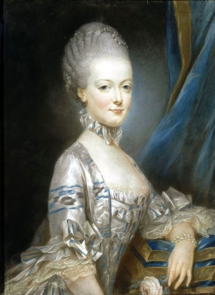 Joseph Ducreux. Maria Antonieta. 1769. Palacio de Versalles.