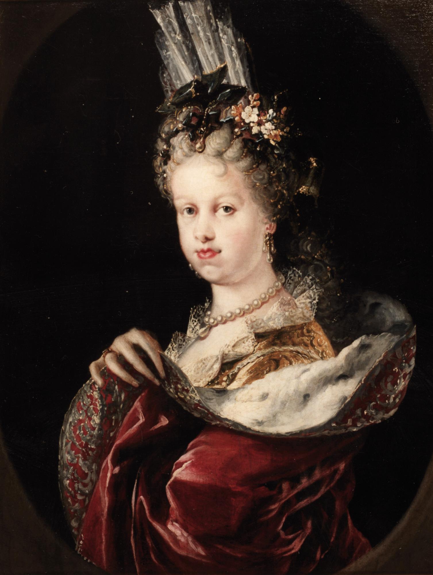 Miguel Jacinto Meléndez. María Luisa Gabriela de Saboya. Hacia 1712. Museo Lázaro Galdiano. Madrid.