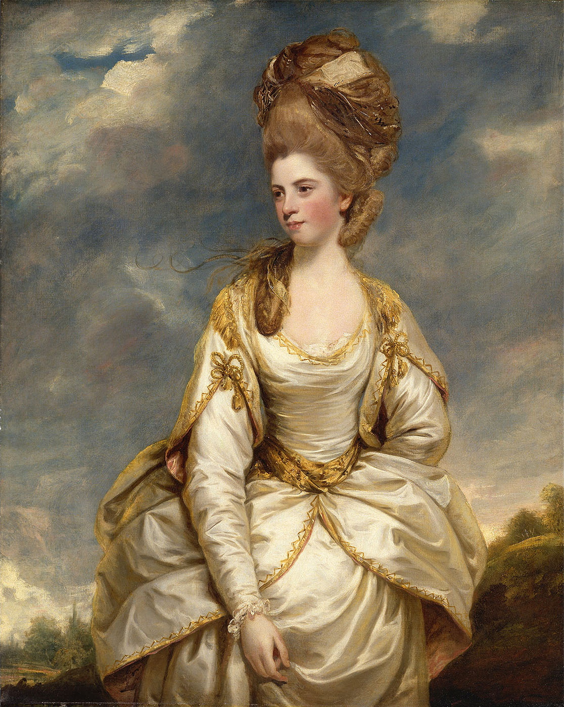 SirJ oshua Reynolds. Sarah Campbell. 1777-1778. Yale Center for British Art. New Heaven. Connecticut.
