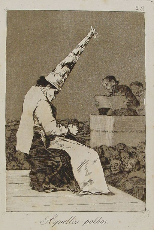 Francisco de Goya. Aquellos polvos.