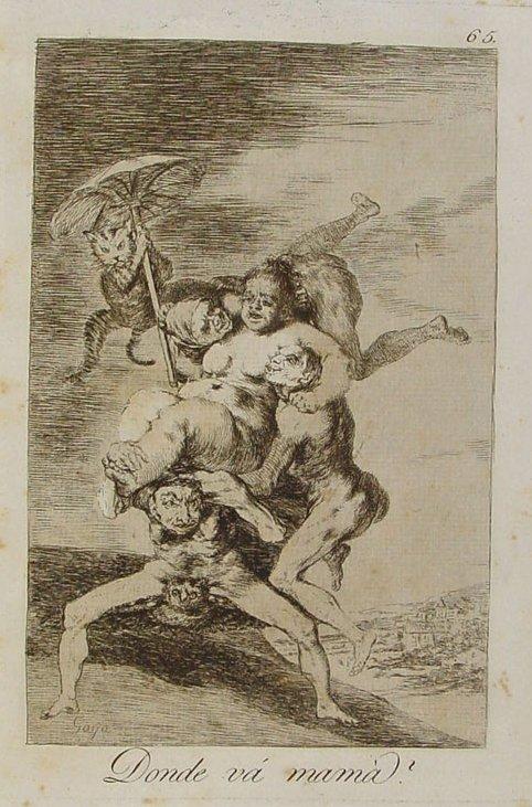 Francisco de Goya ¿Dónde va mamá?