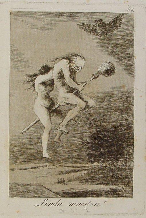 Francisco de Goya. Linda maestra.