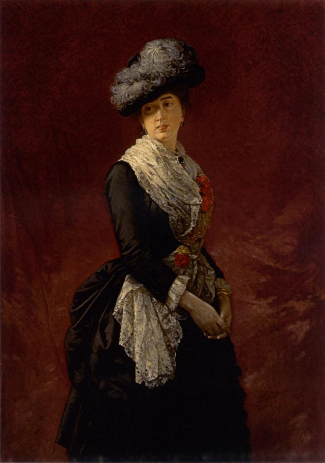 Luis de Madrazo. Retrato de Cecilia de Madrazo. 1880. Colección particular.