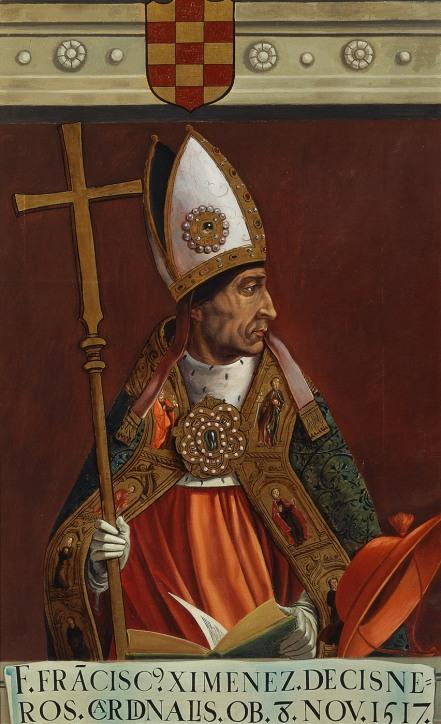 Matías Moreno. El cardenal Francisco Jiménez de Cisneros. Hacia 1878. Museo Nacional del Prado. Madrid.