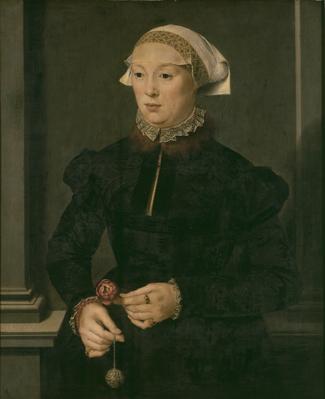 Nicholas Neufchâtel. Retrato de dama. Hacia 1527. Museo Real de Bellas Artes de Bélgica. Bruselas.