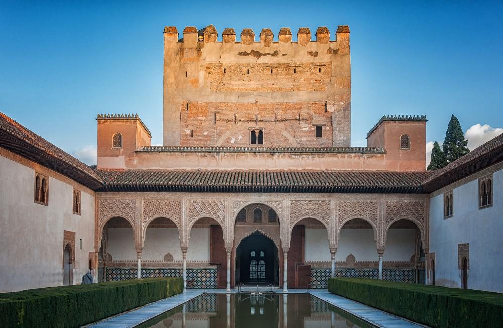 Patio de los Arrayanes. Palacio de Comares.