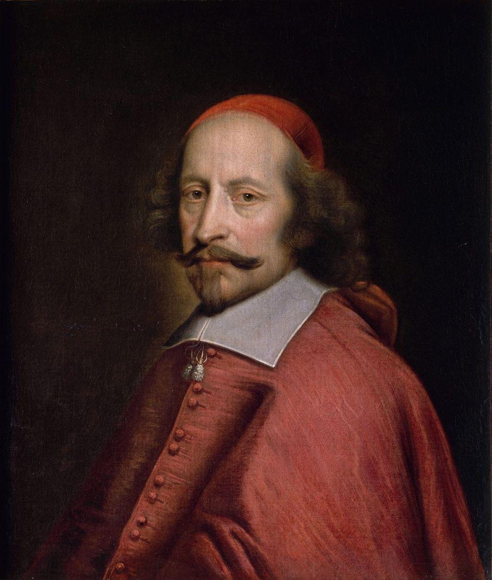 Pierre Mignard. Retrato del cardenal Julio Mazarino. 1658-1660. Museo Condé.