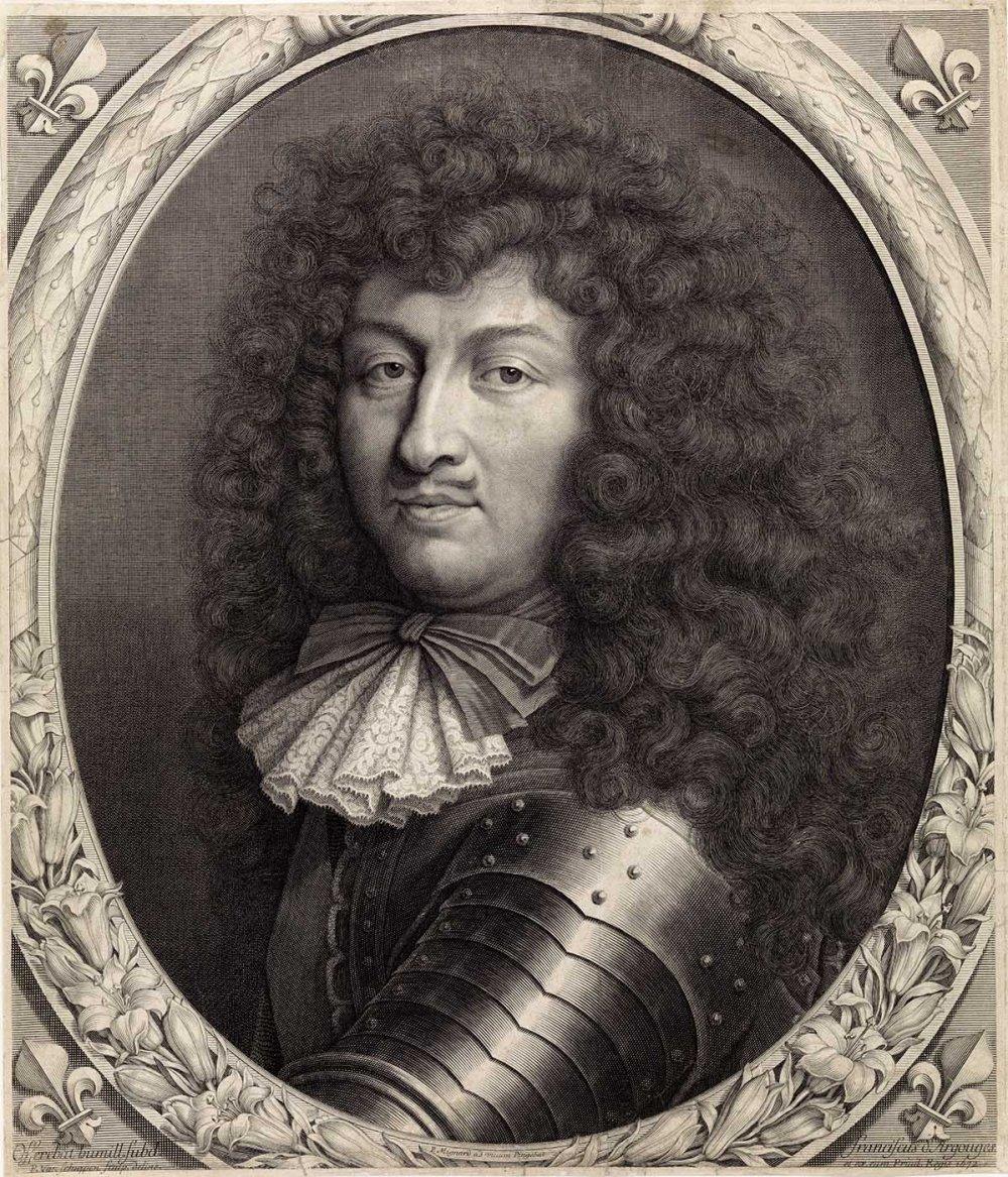Pieter van Schuppe. Retrato de Luis XIV. 1672. Rijksmuseum. Ámsterdam.