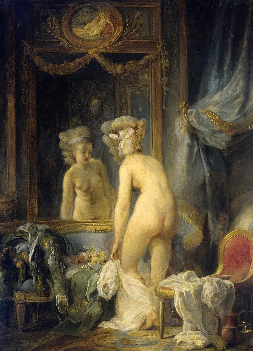 Jean Frédéric Schall. Baño de la mañana. Rijksmuseum. Amsterdam.