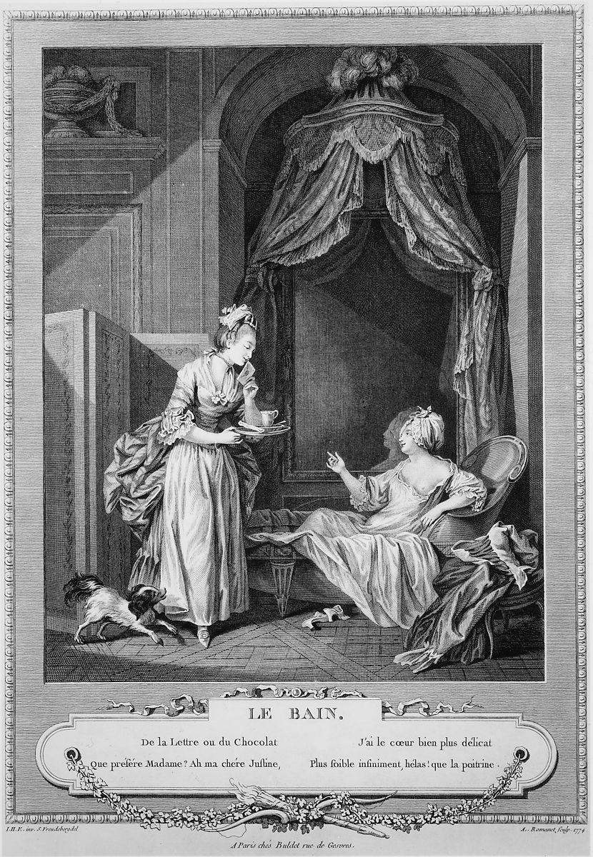 Sigmond Freudeberg. EL baño. 1774. Metropolitan Museum. Nueva York.