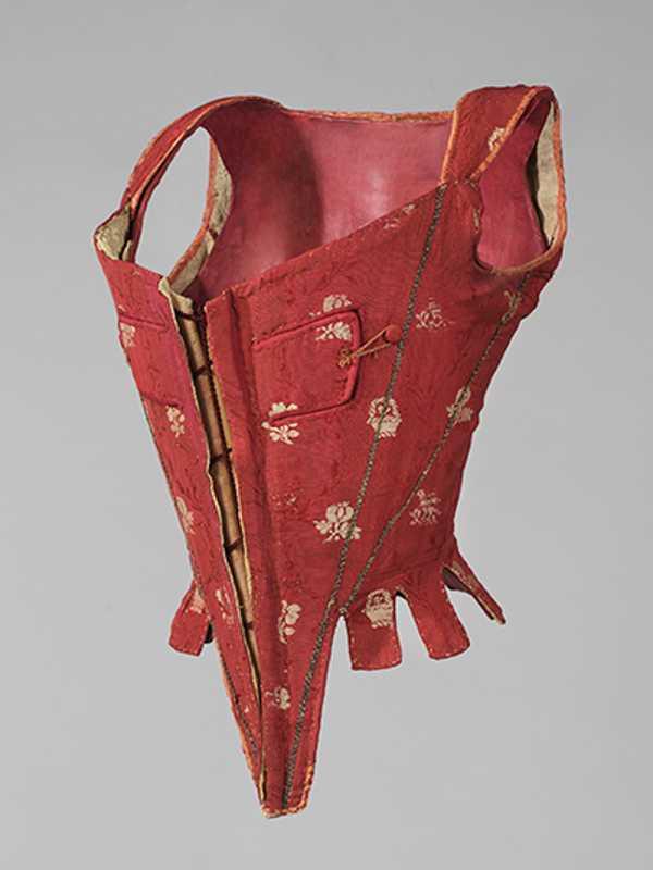Cotilla. Hacia 1740-1760. Museo del Diseño. Barcelona.