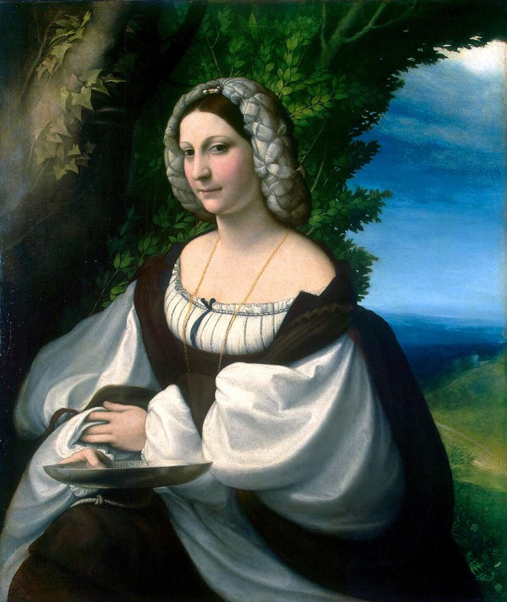 Antonio da Corregio. Veronica Gambara. 1517-1520. Hermitage Museum. San Petersburgo.