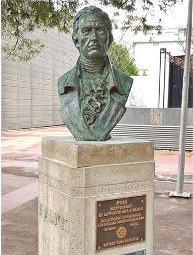 Miguel Bañuls. Dr Francisco Javier Blamis. 2019. Alicante.