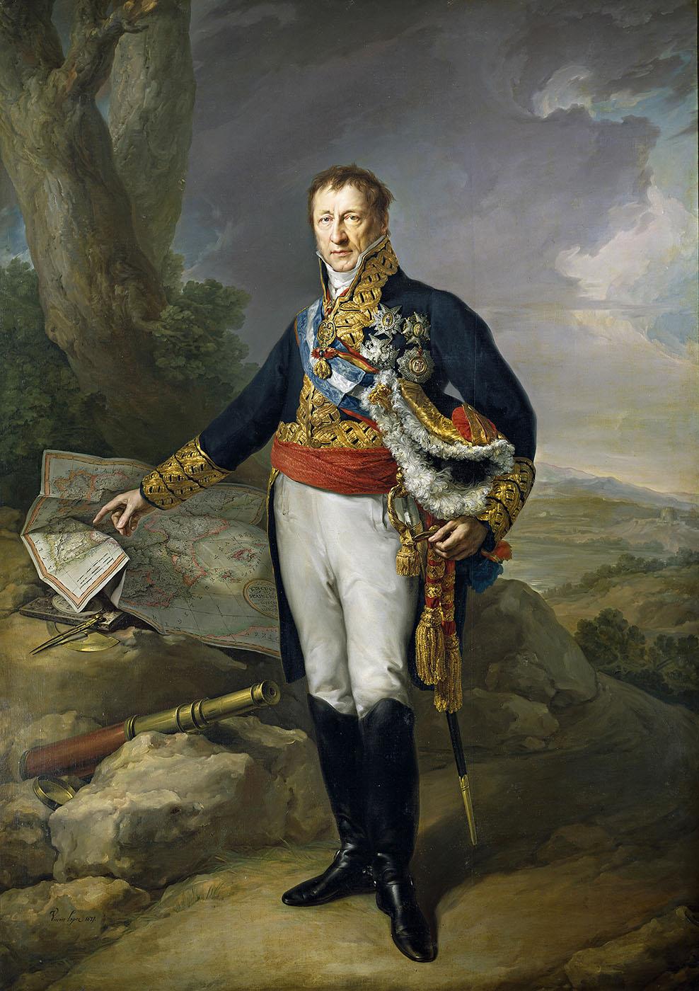 Vicente López Portaña. Pedro de Alcántara Álvarez de Toledo y Salm-Salm. XII duque del Infantado. Museo Nacional del Prado. Madrid.