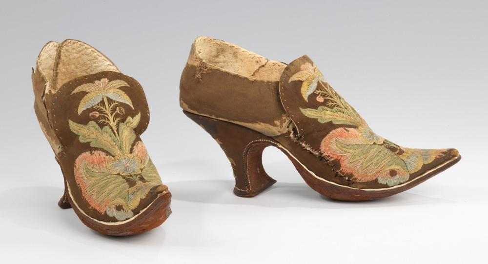 Zapatos. Europa. 1690-1710. Metropolitan Museum. Nueva York