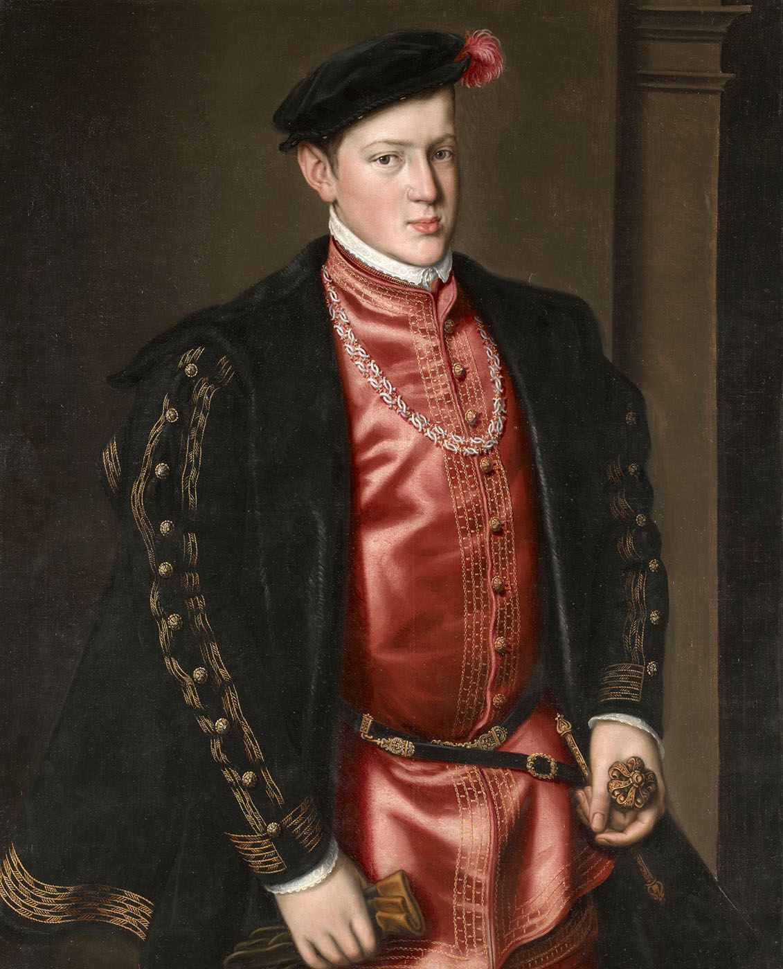 Antonio Moro. Juan Manuel, Principe de Portugal. 1552. Hampton Court Palace.