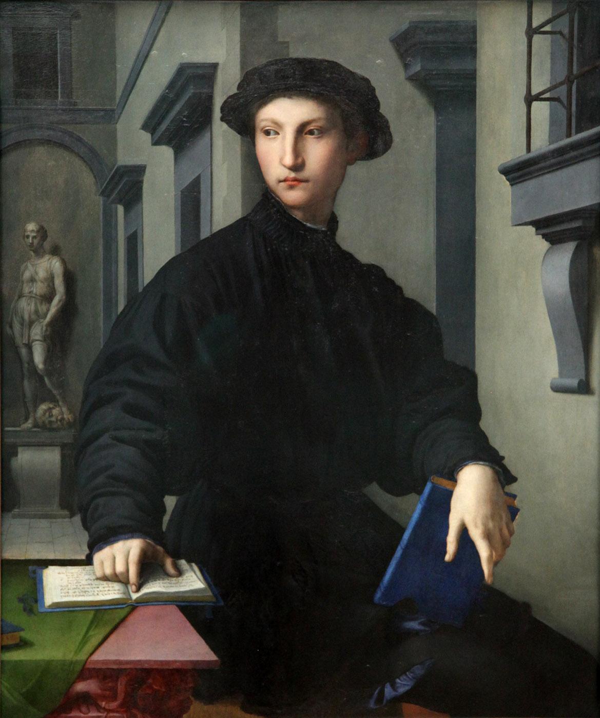 Bronzino. Ugolino Martelli. 1536-1540. Gemäldegalerie. Berlín.